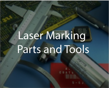 Laser marking tools and components