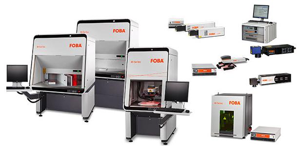 Foba laser marking workstations