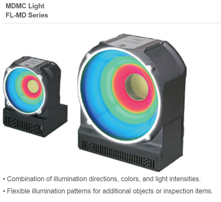 machine vision light with control of multiple colors and quadrants