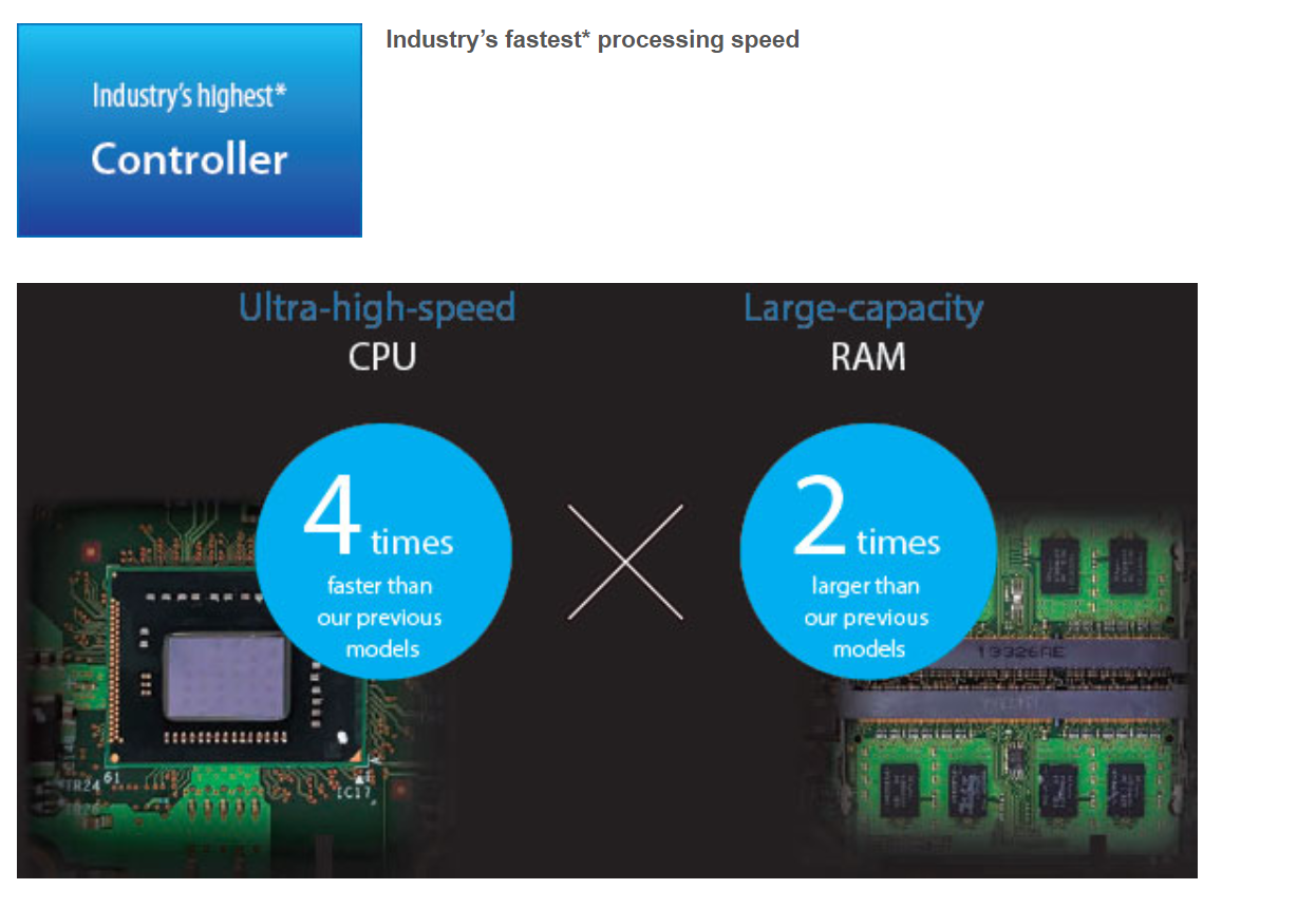 Omron announces new higher speed processors for high end machine vision