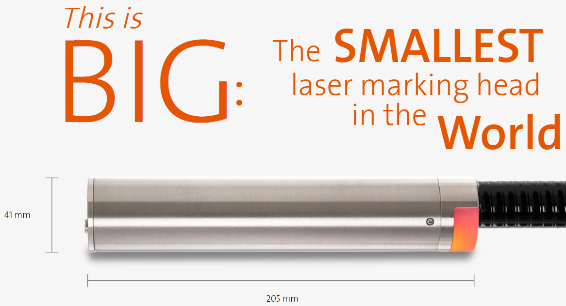 smallest laser in world